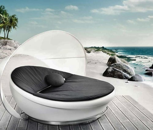 Modern Lounge Daybed By Solpuri Lagoon