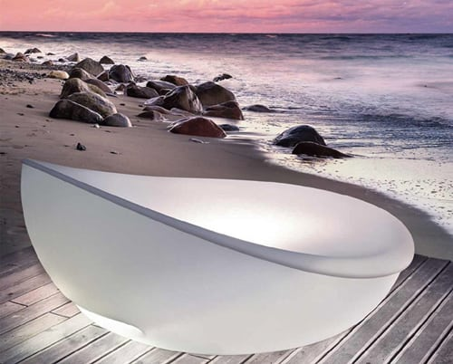 solpuri daybed lagoon 2 Modern Lounge Daybed by Solpuri   Lagoon
