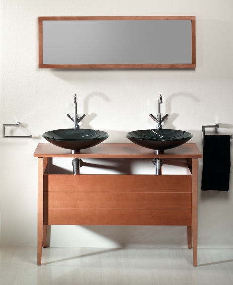 sonia city walnut bath collection Contemporary Bathroom Furniture from Sonia   new vanities, consoles, mirrors and more...
