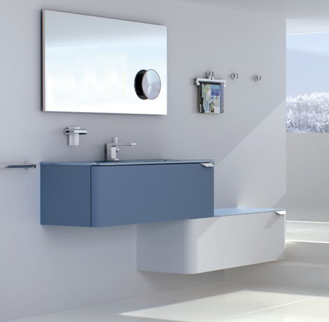 sonia modern vanities songe 1 Modular Vanities from Sonia   new Songe range