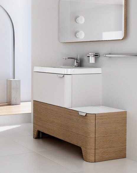 sonia modern vanities songe 6 Modular Vanities from Sonia   new Songe range