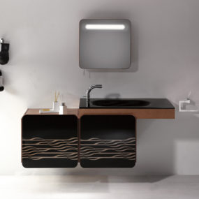 Versatile Vanity from Sonia: nice rounded corners
