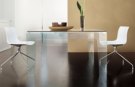 sovetdiningtable Tempered Glass Table from Sovet   Frog coffee table & dining table