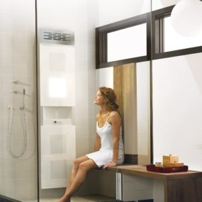Spa Shower System from BainUltra – Vedana offers five therapies in one home system!