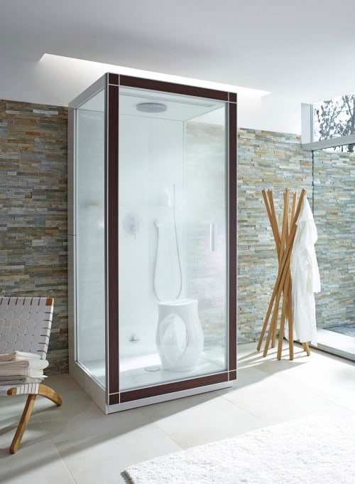 spa steam shower st trop philippe starck duravit 1 Spa Steam Shower   St. Trop by Duravit