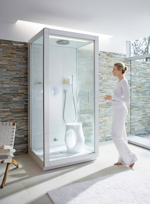 spa steam shower st trop philippe starck duravit 2 Spa Steam Shower   St. Trop by Duravit