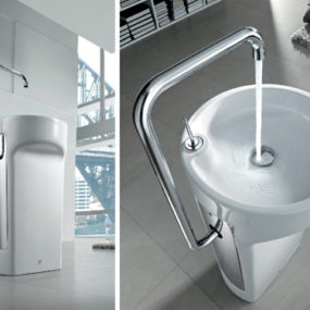 Space Saver Wash Basin by Roca – Amberes washbasins