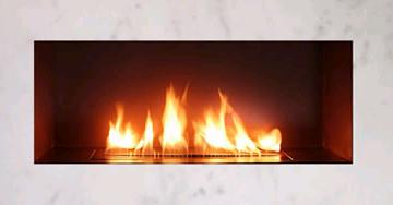 spark ribbon fireplace Ribbon direct vent fireplace by Spark Modern Fires   no flu or chimney
