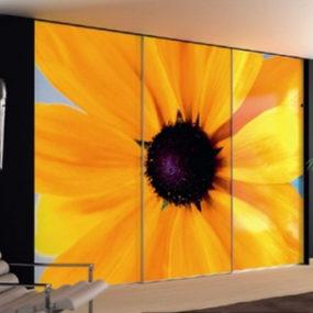 Decorative Closet Doors – Elba Nature wall closets by Spazzi