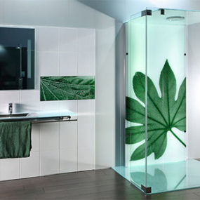9 Printed Glass Tiles And Printed Shower Doors By Sprinz U2013 Photorealistic  Images