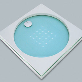 LED Lighted Shower Tray by Sprinz