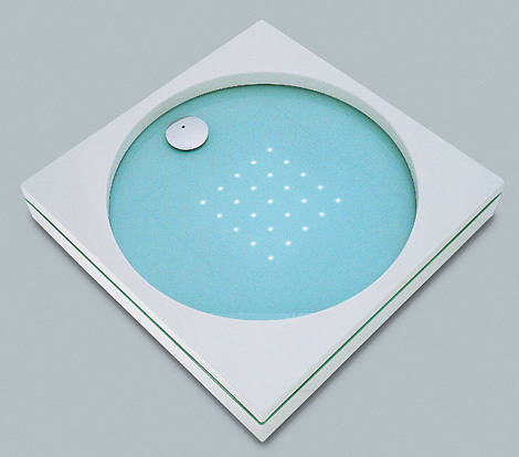 sprinz shower tray element s light 3 LED Lighted Shower Tray by Sprinz