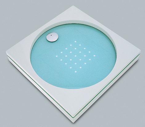 sprinz shower tray element s light 3 LED Lighted Shower Tray by Sprinz