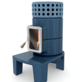 Stylish Wood Stoves – innovative stove design Stack