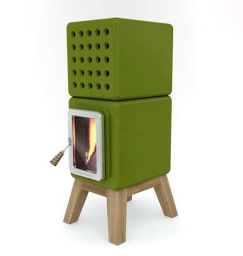 stack stove collection adriano design 4 Stylish Wood Stoves   innovative stove design Stack