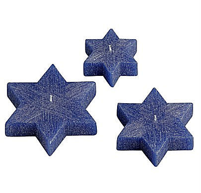 star of david floating candles Star of David Floating Candles   the Hanukkah centrepiece
