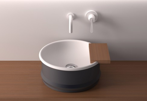 steel wash basin agape vieques 1 Steel Wash Basin by Agape   new Vieques