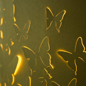 Butterfly Lamp Shades by Stellavie