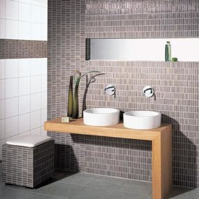 Mosaic Lines Tile from Steuler Fliesen – innovative mosaic tiles with a very different look
