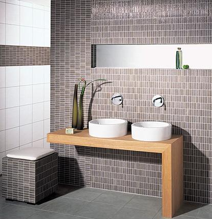 2 mosaic lines tile from steuler fliesen innovative mosaic tiles with a very different look - Bathroom Designs With Mosaic Tiles