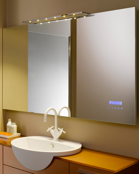 stocco touch screen mirror 1 Touch Screen Mirror from Stocco plays MP3   Maitre