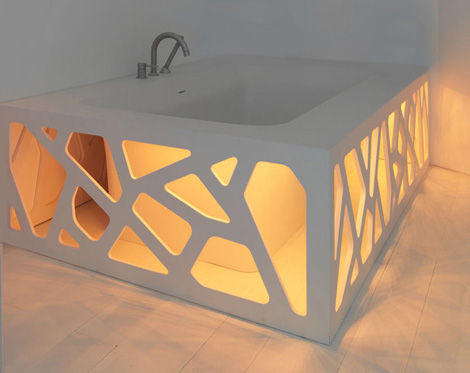 stocco unique bathroom designs origami 1 Unique Bathroom Designs   unusual bathroom suite Origami by Stocco