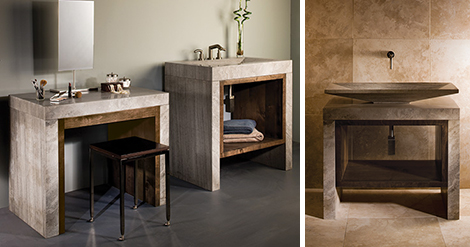 stone forest siena marble bathroom suite 11 Stone Forest Debuts the Siena Collection