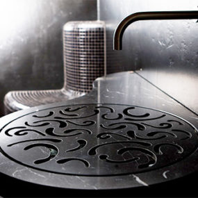 Unusual Bathroom Sink by Stroehmann