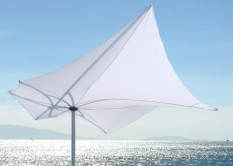 structure lab exzentro umbrella s1 Architectural Sunshade by StructureLab   new umbrella Exzentro