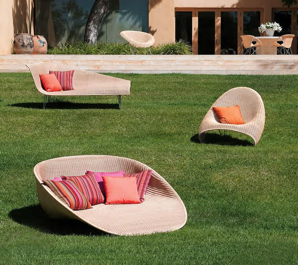 Stunning Outdoor Furniture Collection Fibonacci By Janus