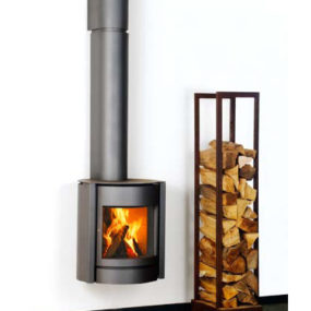 Wall Suspended Stove from Stuv – new 30-up Belgian stove
