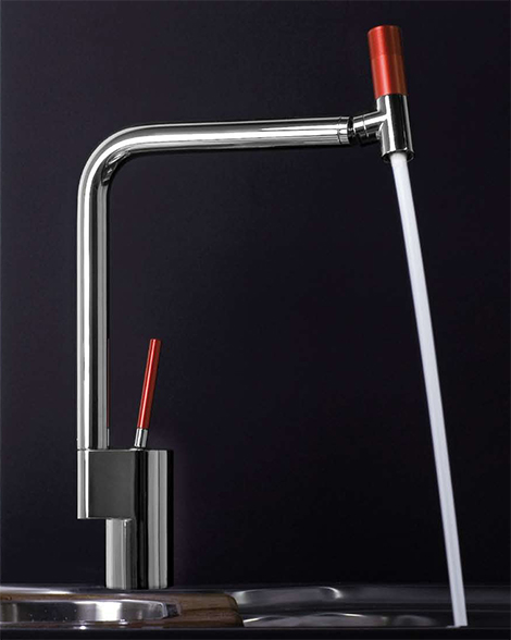 Beau LED Faucet From Webert   New Arcobaleno Contemporary Kitchen Faucet