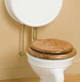 Pillbox watercloset from Sunrise Specialty – Victorian style toilet