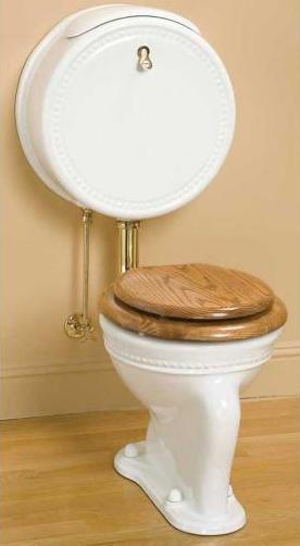 Pillbox Watercloset From Sunrise Specialty Victorian