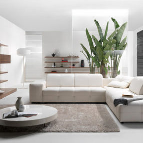 Surround Sound MP3 Sofa by Natuzzi