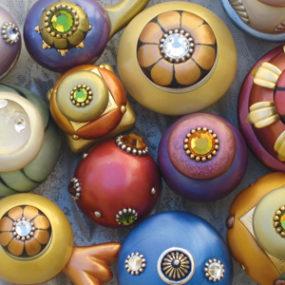 Decorative Cabinet Knobs by Susan Goldstick, Inc.
