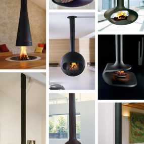 Suspended Fireplace – hot new trend