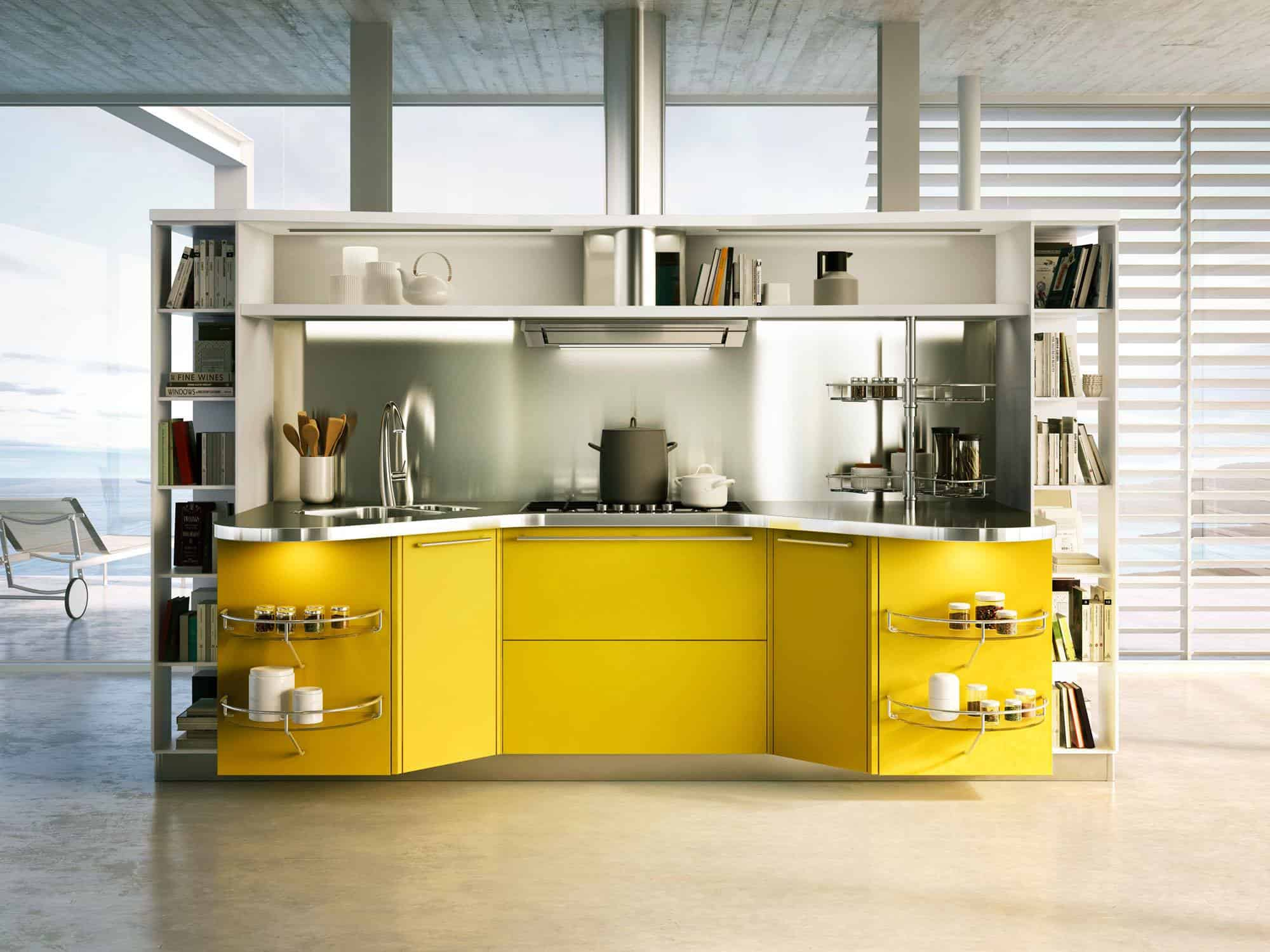 Special Needs Kitchens By Snaidero: Skyline Lab