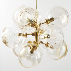 Suspended Lighting Fixtures – unusual 'Bubble' by Lindsey Adelman