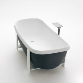 Suspended Tub from Agape – new Pear Cut VAS914