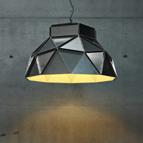 Industrial Lamp Shades – ultra-contemporary ceiling shade by Dark