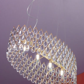 Opulent Lighting Designs by Ruggiu – Bucintoro lamps