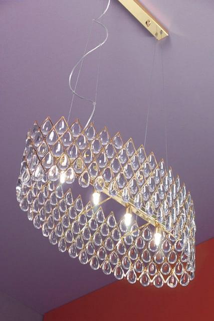 suspension lamps ruggiu bucintoro 1 Opulent Lighting Designs by Ruggiu   Bucintoro lamps