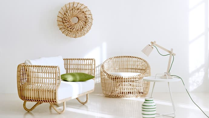 Sustainable Rattan Indoor Furniture by Cane-line