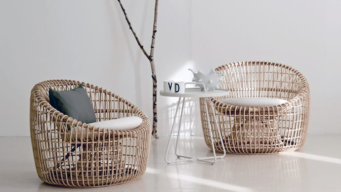 sustainable rattan indoor furniture by cane line. Black Bedroom Furniture Sets. Home Design Ideas