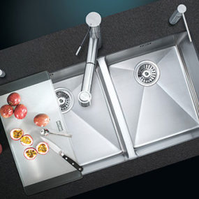 Stainless Steel Kitchen sinks from Suter – Super Versatile sinks