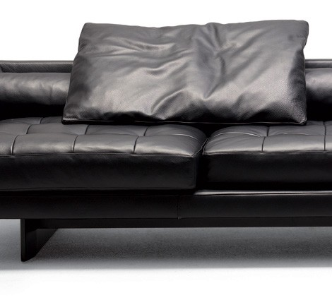 Swan Plaza Sofa Palomba Leather Extra Large From By Designers Ludovica And