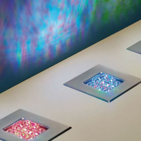 Swarovski Crystal LED Lighting – Recessed LED Spots & Crystal Star LED illumination system