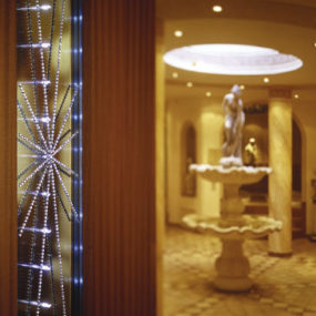 Ornamental LED Panels from Swarovski – Ornamentic LED Wall Crystal Panels