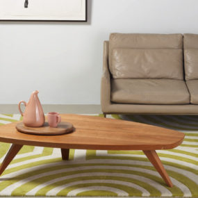 Swell Coffee Table by Sherwood Hamill for Angela Adams